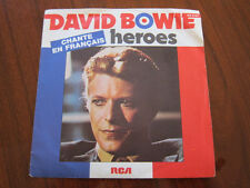 DAVID BOWIE Heroes French Picture sleeve