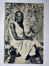 AFRICA ORIENTALE Colonia coloniali AOI donna Bilena vecchia cartolina