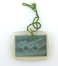#e3450 Abzeichen / Wackelbild Olympia Olympische Spiele Handball DDR