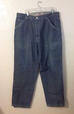 Men's FUBU Blue CARGO Jeans Sz 40 x 34 - Sturdy Denim