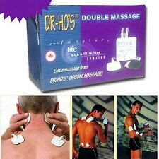 DR HO'S Dual Double Muscle Massager Therapy System Relax Stimulator Pain Reliev.
