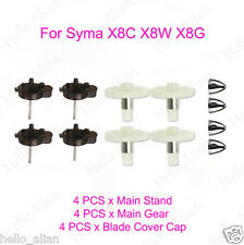 Blade Cover Caps Main Gear Stand Teile For Syma X8C X8W X8G RC Drone Quadcopter