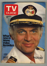 TV GUIDE Canada GAVIN MacLEOD Vol 3 #29 - July 21 1979 - Issue No. 134