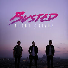 Busted - Night Driver - CD Album (Released 25th November 2016) Brand New Sealed