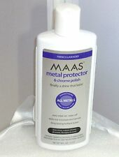 Maas Metal Polish 8 Ounce Chrome Polish & Metal Protecttor Anti Tarnish NEW