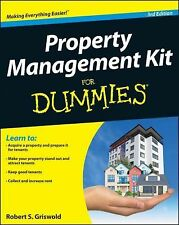 Property Management Kit for Dummies� by Robert S. Griswold (2013, Paperback)