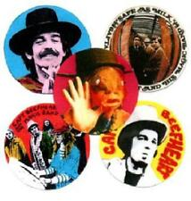 5 CAPTAIN BEEFHEART  BADGES. Trout Mask Replica, Psychedelia.