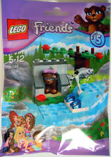 LEGO FRIENDS 41046 Brown Bear's River (Polybag Series 5)