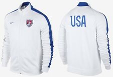 NIKE USA AUTHENTIC N98 SOCCER TRACK JACKET WHITE/BLUE  NWT MEN'S MEDIUM $100