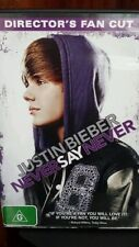 Justin Bieber Never Say Never Director's Fan Cut DVD MOVIE