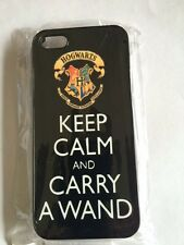 Keep Calm and Carry a Wand Harry Potter 5 / 5S Apple cell case - New