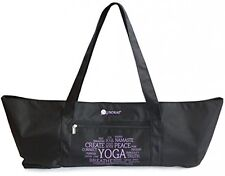 Aurorae Yoga Mat Tote Bag, Extra Wide To Fit Most Yoga Mats And Accessories, In