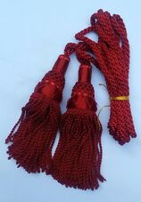 NEW SCOTTISH BAGPIPES SILK DRONE CORD RED COLOR/HIGHLAND BAGPIPE SILK DRONE CORD