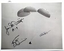 Apollo 9 Crew Signed NASA Photo McDivitt, Scott & Schweickart Authenticated
