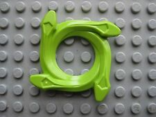 Lego Ninjago SPINNER RING -Lime Green- for Minifigure Spinners 9443 9445