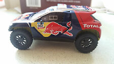 PEUGEOT 208 DKR 1:43, IXO, DAKAR 2015, RALLY #302 DIECAST, NEW SEALED IN BOX.!