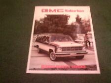 1980 GMC SUBURBAN 2WD 4WD C K 1500 2500 CANADIAN CANADA BROCHURE Chevy Chevrolet