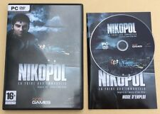 Jeu PC NIKOPOL La Foire Aux Immortels inspirée D'Enki Bilal