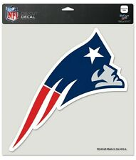 "New England Patriots 8""x8"" Die-Cut Auto Decal [NEW] NFL Car Emblem Sticker CDG"