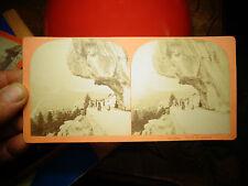 Anciennes Photographies en Relief Visionneuse Suisse Route de Brunig