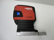 VERY NICE HILTI PMC 46 COMBI LASER LEVEL SELF-LEVELING PMC46,WITH  MAGNETIC BASE