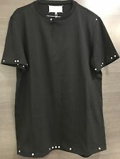 New Maison Martin Margiela Studded T-Shirt, Black, Size 50