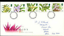 GB FDC 1993 Orchids, Stevenage FDI  #C39453