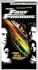 The Fast and the Furious (VHS, 2002, Special Edition Contains Bonus Footage)