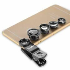 4 in 1 Fish Eye len +Wide Angle + Macro + Telephoto Lens Camera for iphone 7 6 5