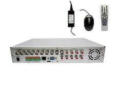 8/Video & 8/Audio Surveillance H.264 Recorder/DVR & 250GB System