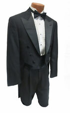 40L New Mens Black Brooks Brothers Fulldress Tuxedo Tailcoat Debutante Formal