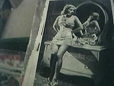 magazine item 1942 original ww2 -  ann sheridan the oomph girl