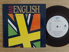"BAD ENGLISH - STRAIGHT TO YOUR HEART - 45 GIRI 7"" HOLLAND PRESS"