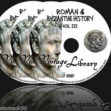 450 Rare Roman & Byzantine History Ebooks on 3 DVDs  Anciet Coin Silver job lot