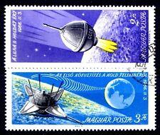 Hungary - 1966 Space / Luna 9 Mi. 2218-19 VFU