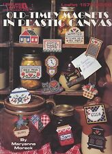 Plastic Canvas Pattern Book Old Timey Magnets Leisure Arts 1572
