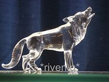 WOLF Figurine@PREMIUM Glass BEAST@UNIQUE Collectable Gift@Wild DOG Family@WOLVES