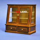 XY708w Heidi Ott walnut Glazed Shelf Unit Dollhouse Miniature 1:12 Scale store
