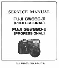 Fuji GW 690III GSW 690 III Service Manual on CD -