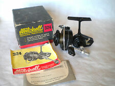 Vintage Fishing reel Moulinet Mitchell 324 boxed with instructions