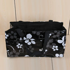 Baby Changing Diaper Nappy Organizer Tote Bag Mummy Handbag Waterproof Black