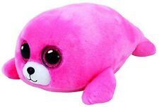 Ty Pierre the Pink Seal Beanie Boos Stuffed Animal Plush Toy