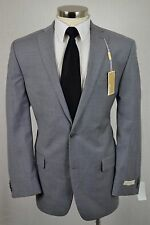 (42L) NEW Michael Kors Men's Gray Wool MOD FIT 2 Button Sport Coat Blazer Jacket