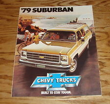 Original 1979 Chevrolet Truck Suburban Sales Brochure 79 Chevy