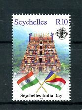 Seychelles 2016 MNH India Day 1v Set Flags Stamps