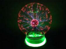 PLASMA LIGHTNING 4 INCH BALL party lights static lite ELECTRIC LIGHT GLASS NEW