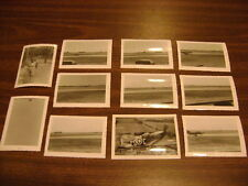 Lot of 11 photos military, planes, and more  1955
