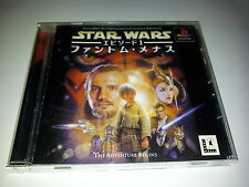 STAR WARS EPISODE 1 PHANTOM SONY PLAYSTATION VIDEOGAMES PS JAP JAPANESE PSX PS1