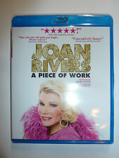 Joan Rivers: A Piece of Work Blu-ray movie comedian biography documentary NEW!