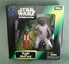 STAR WARS Kabe and Muftak POTF Power of the Force Fan Club Mail Away Exclusive